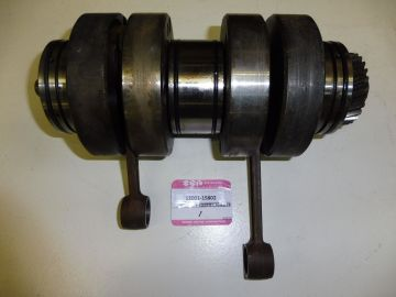 12001-15802 Crankshaft ass'y compl.Suz.T500 used but perf.cond.