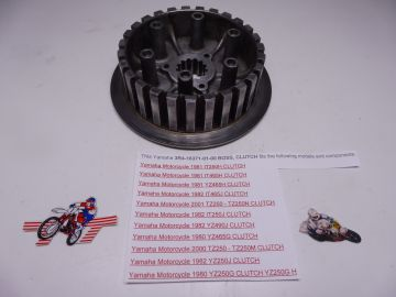 3R4-16371-01-00 Clutch boss Yamaha TZ250N 2000 up/YZ250 1980 up used (but as new)