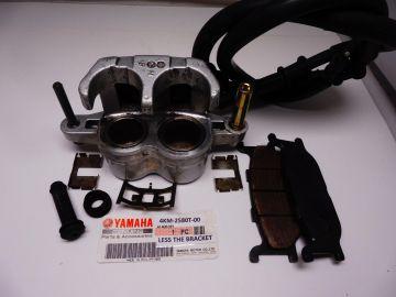 4KM-2580T-00 Caliper L.H. Less bracket XJ900S used