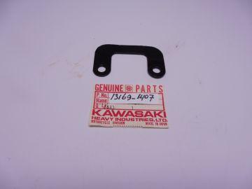 13169-1407 Plate rear flap / fender KX80
