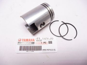183-11631-00 Piston complete with rings/pin/clips std 43mm Yamaha AS-1-2 125cc new