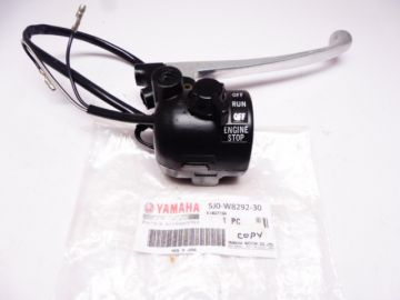 5J0-W8292-30 Lever holder R.H.with engine stop switch Yam.DT50MX copy new