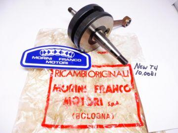 10.0081 Crankshaft Morini Franco T4 moped 50cc new