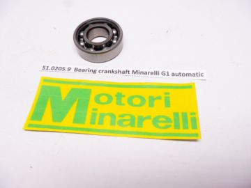 51.0205.9 Bearing crankshaft Minarelli G1 KS 50cc mini cross.