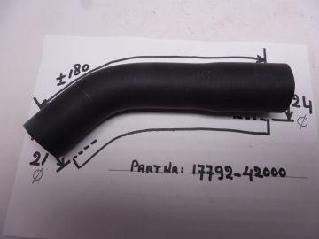 17792-15400 Hose inlet radiator L.H. RG500 / RGB500 Copy
