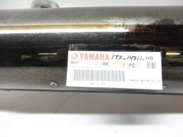 1TX-14711-110 Exhaust Left in black yamaha FJ1100-1200
