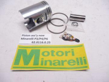 62.0116.0.25 Piston ass'y new 39.25mm Minarelli P3-P4-P6