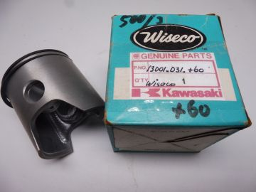 13001-031 +0.60 Piston compl.Wiseco 61.75mm with rings Kaw.KH500-3cil.new