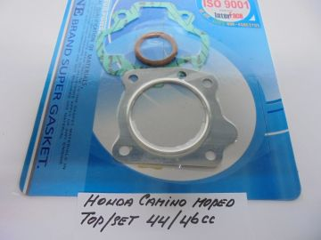 Gasket.set top for 44mm / 46mm cil.Camino moped