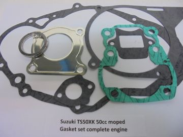 Gasket set compl Suzuki GT50 / ER50 moped new