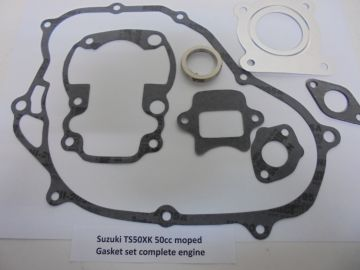 Gasket set complete TSX50K moped
