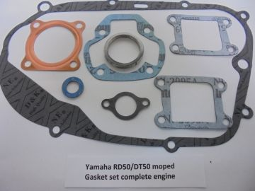 Gasket set compl.Yam.RD50/DT50 moped new