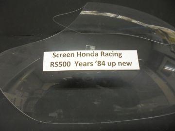 Screen new Honda RS500 racing