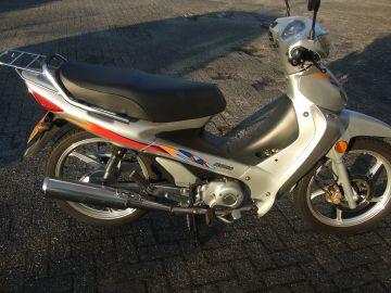 Motobike Siamoto 1cylinder 125cc 4-stroke