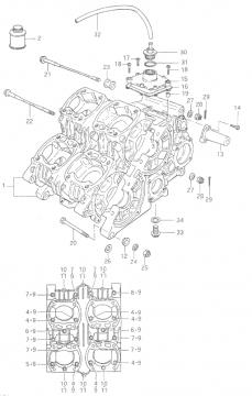 RGB500 Crankcase