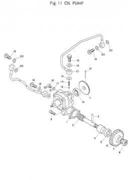 Yamaha TD2 Oil Pump