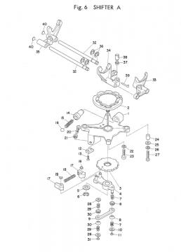 Yamaha TD2 Shifter A