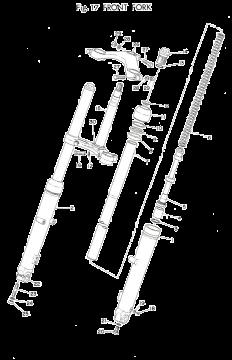 TD3 / TZ250 A-B Front Fork