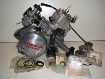 Engine RS125RE racing 1 cylinder