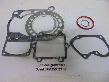 Gasket,top end set Suz.RM250 '90 '91 new