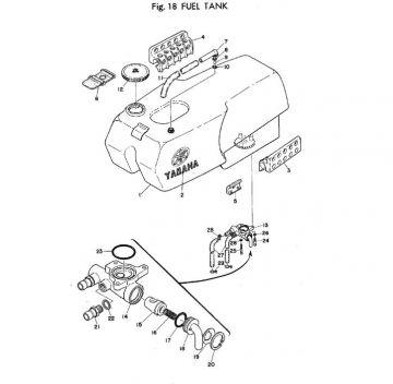 TR2 Fuel Tank