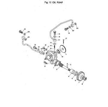 TR2 Oil Pump