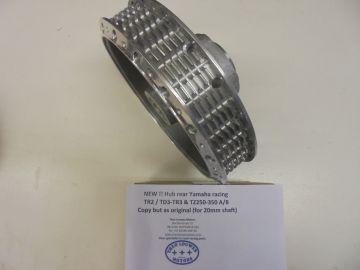 240-25311-00 Hub rearwheel TR2/TD3/TR3 / TZ250/350 A-B
